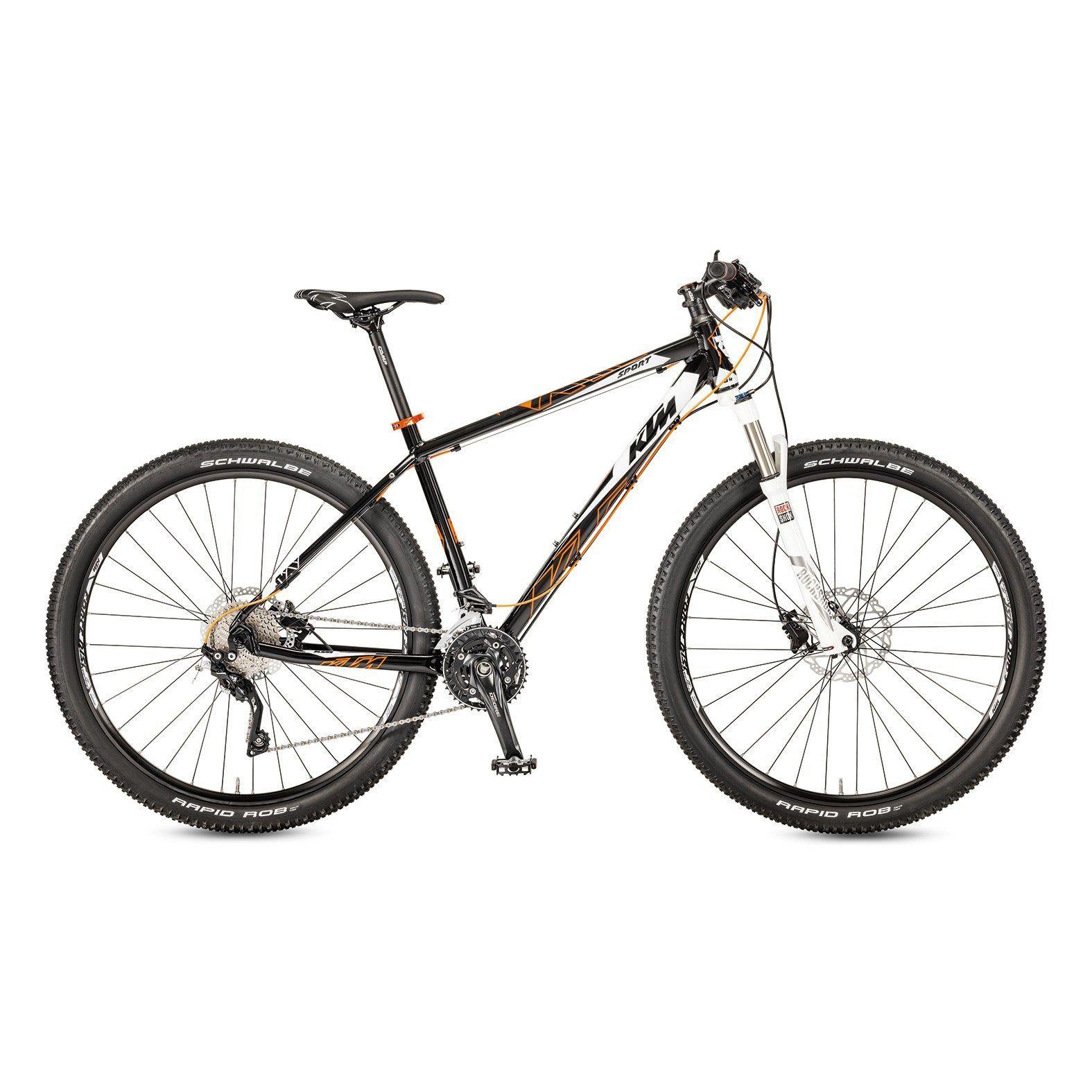 Ktm Ultra Sport Black White Mountain Cbi Bikes Mountain Bikes
