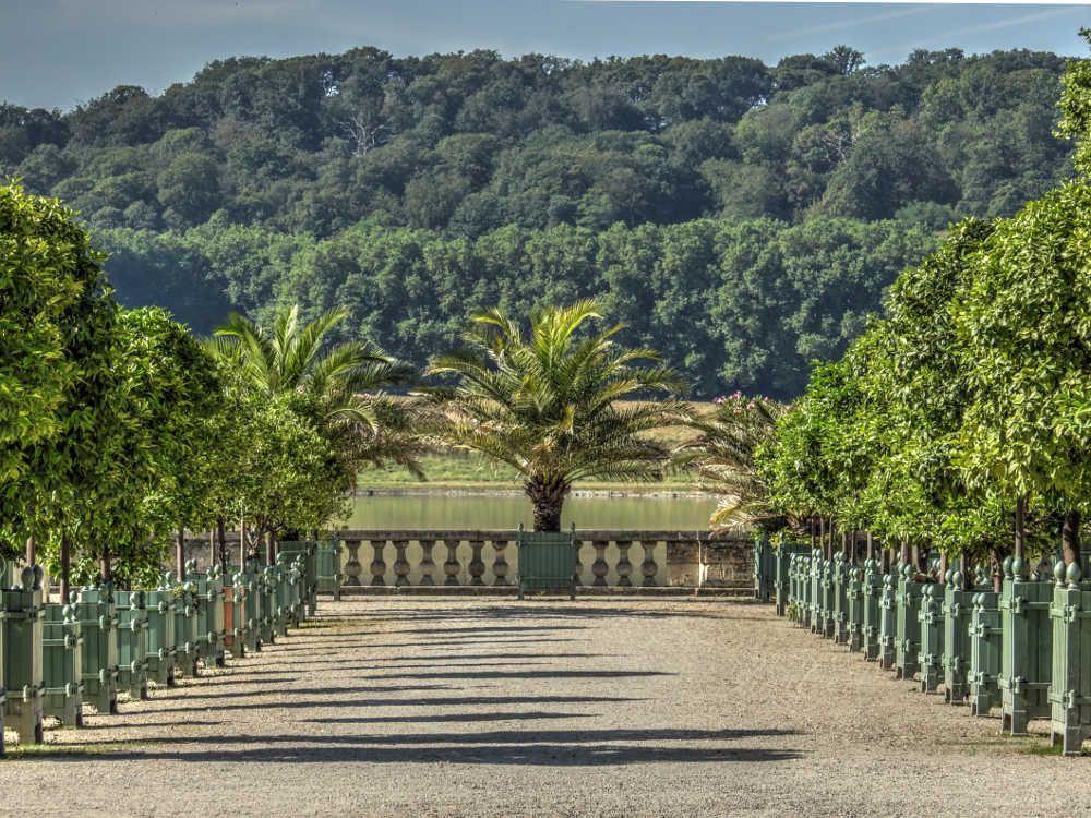 parc et jardins du chteau de versailles pice deau des suisses depuis l - Jardin Chateau De Versailles