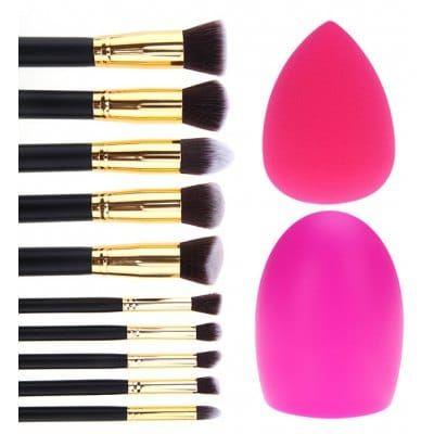 sponge blender black makeup brushes  tools sale price