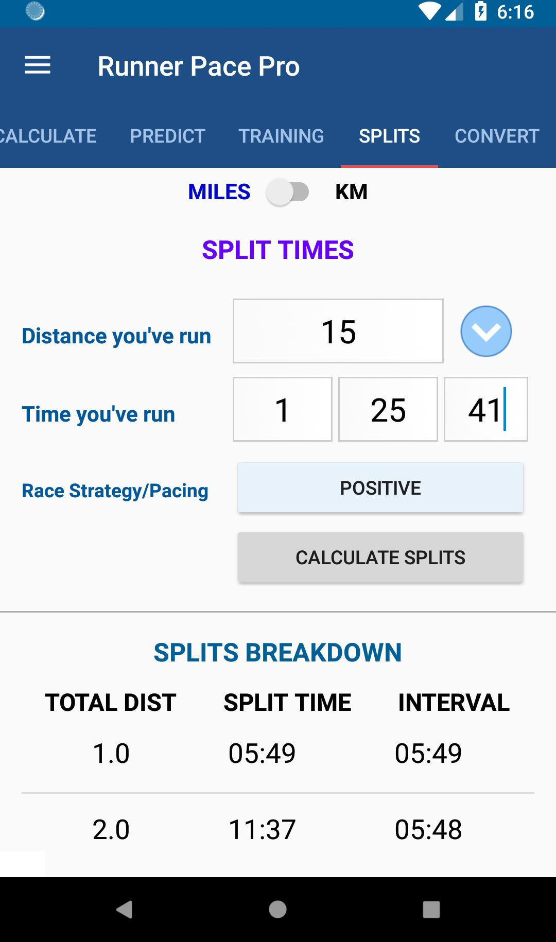 Running is made easy with the Running Pace Calculator Pro