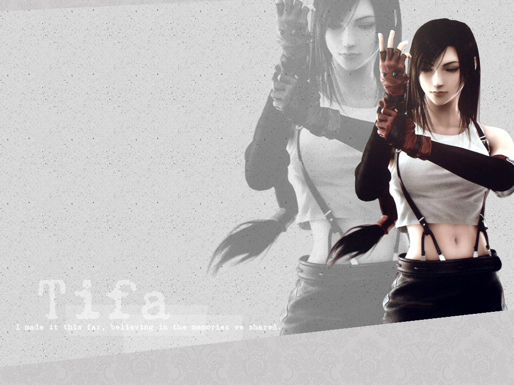 Tifa Wallpaper By Thulamarquise Final Fantasy Tifa Final Fantasy Fantasy