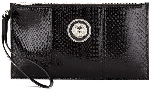 1991306a Versus Versace Women's Water Snake Clutch Bag Black | Stuff to Buy ...