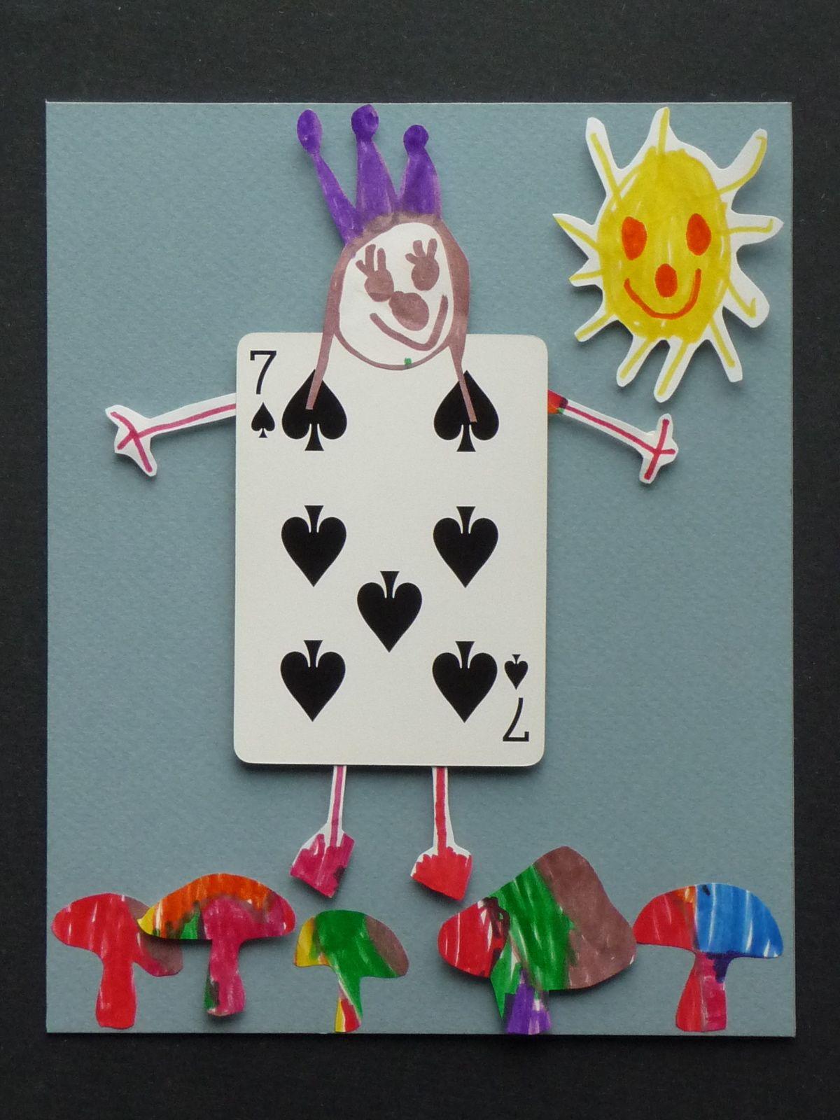 Alice and Wonderland Crafts for Kids
