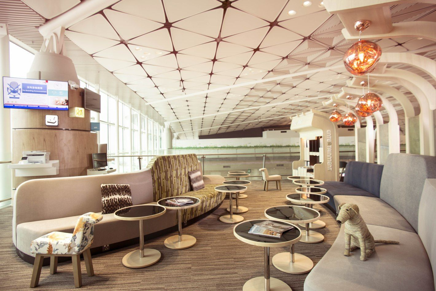 The World S Leading Resource For Aviation Design And Product News Lounge Business Class Lounge Hong Kong Airlines