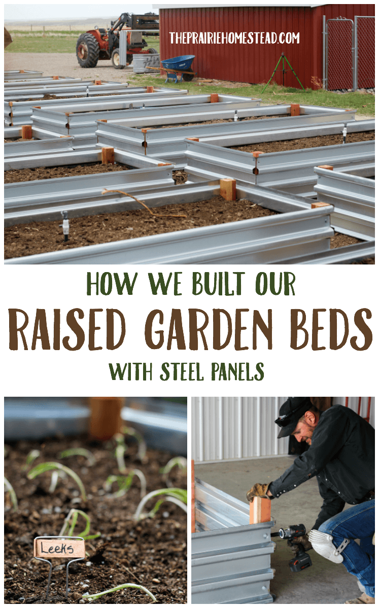 How to build a simple raised bed building raised garden beds
