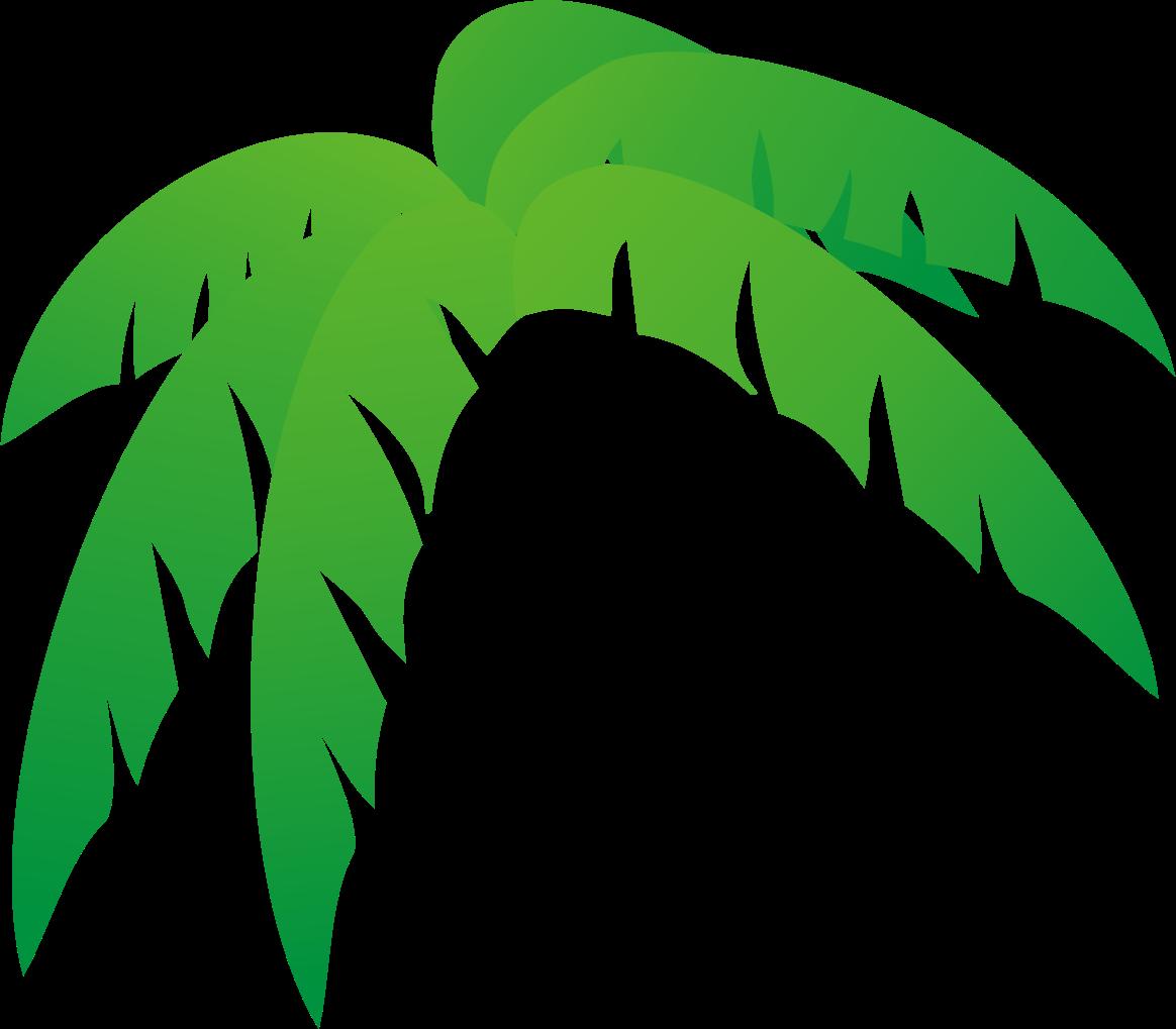 palm tree leaves clipart clipartsgram com vestido tipico rh pinterest com Palm Tree Leaf Stencil Palm Tree Leaves Drawing