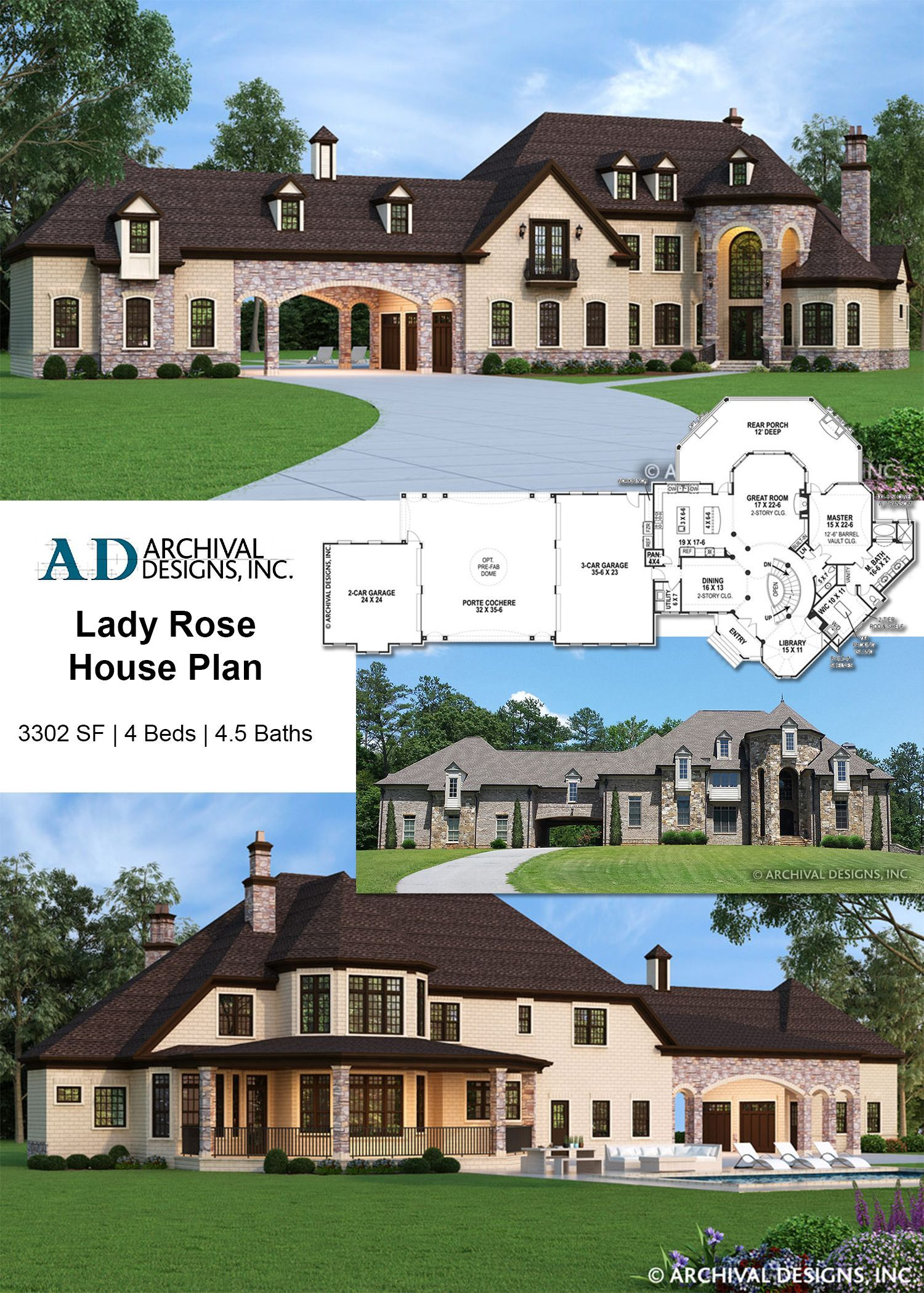 Pin By Greg Jaensch On Dream Home Build In 2020 Rose House Dream House Plans Craftsman House Plans