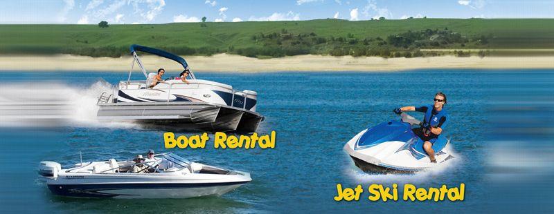 Big mac marina jet ski rental boat rental lake