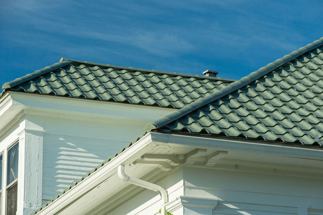 Tile Gallery Facade House Metal Roof Terracotta Roof