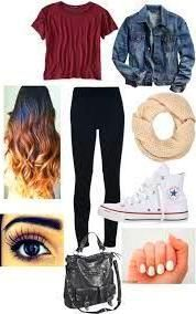 School Outfits Fashion To School Outfit for freshman first day of school outfit high school tumblr  Google Search first day of school outfit high school tumblr  Google Se...