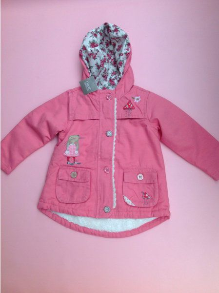 9fdfee124c38 Details about Next Girls Pink Character Jacket Bunny Mouse new A W ...