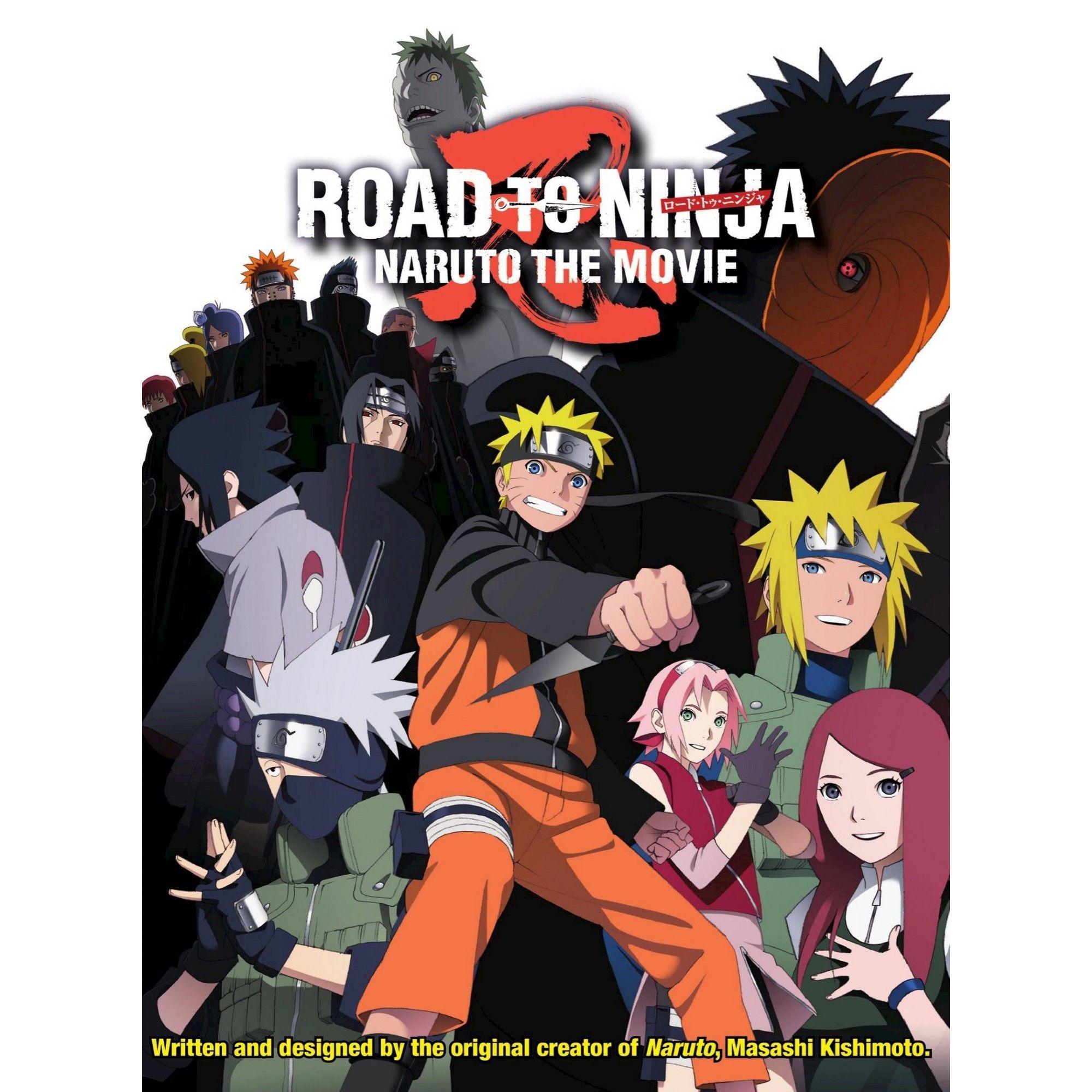 Naruto Shippuden Road To Ninja Movie Dvd Narutoshippuden Ninja Movies Naruto Shippuden The Movie Naruto The Movie