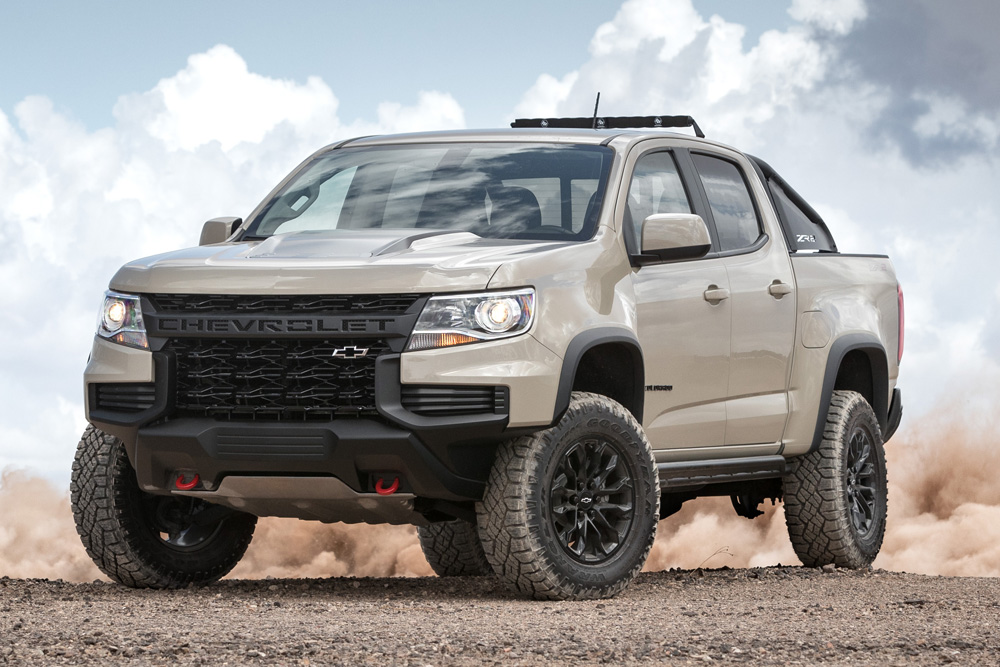 Take On The Trail With Chevrolet S Aggressive New 2021 Colorado