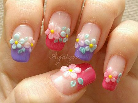 Easy Spring Nail Art Designs Ideas Trends 2014 For Beginners