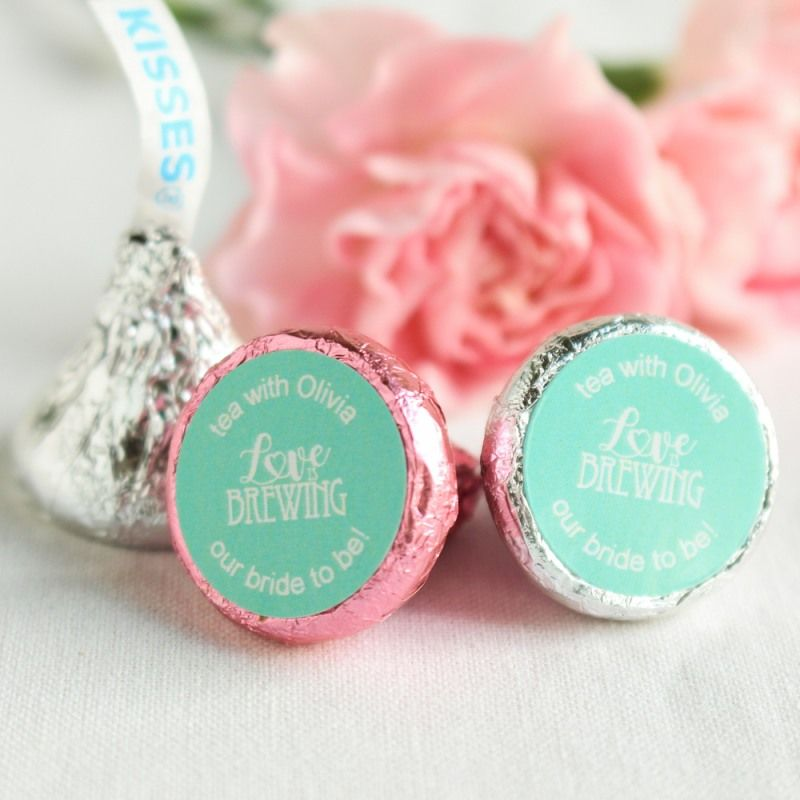 Personalized Wedding Hersheys Kisses Wedding Favors Pinterest
