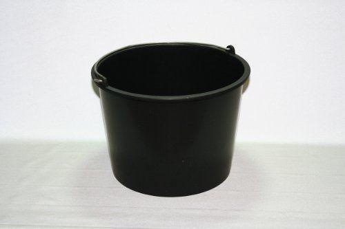 Baueimer 20 Liter schwarz aus Kunststoff - [ #Germany #Deutschland ] #Haushaltswaren [ more details at ... http://deutschdesign.apparelique.com/baueimer-20-liter-schwarz-aus-kunststoff/ ]