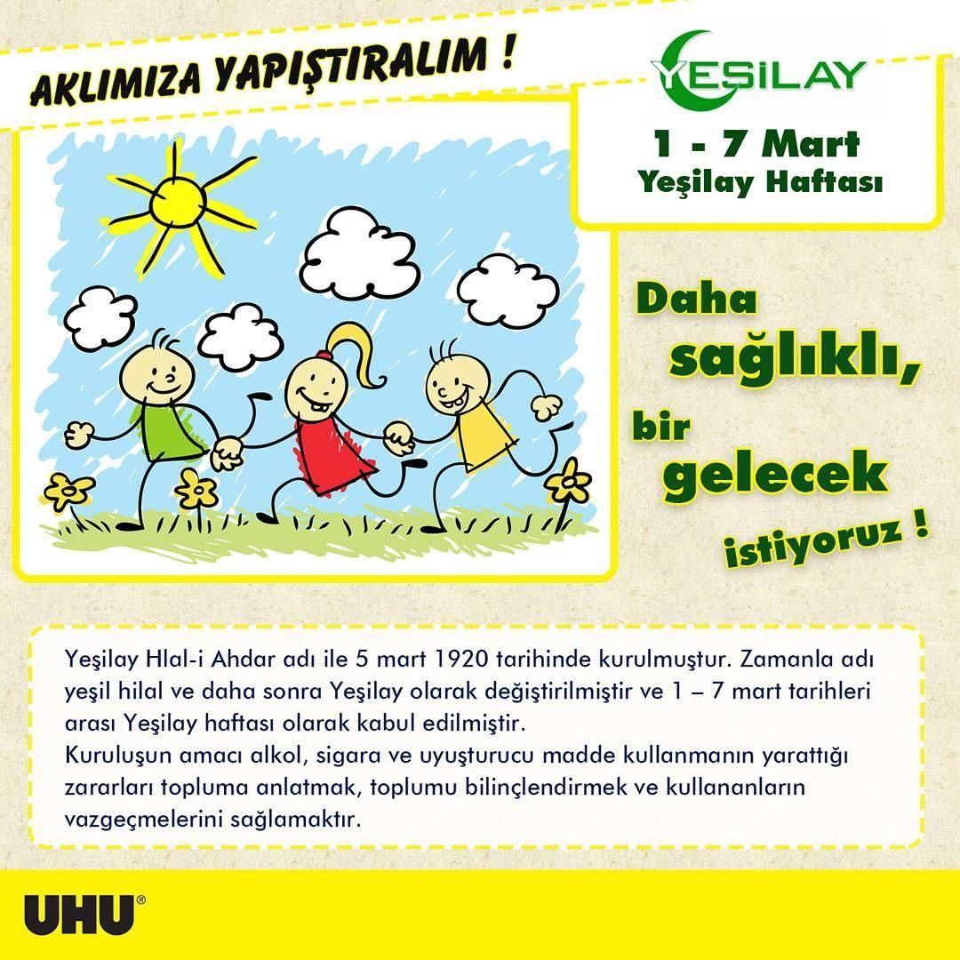 1-7 Mart Yeşilay Haftası Çocuk Etkinlikleri