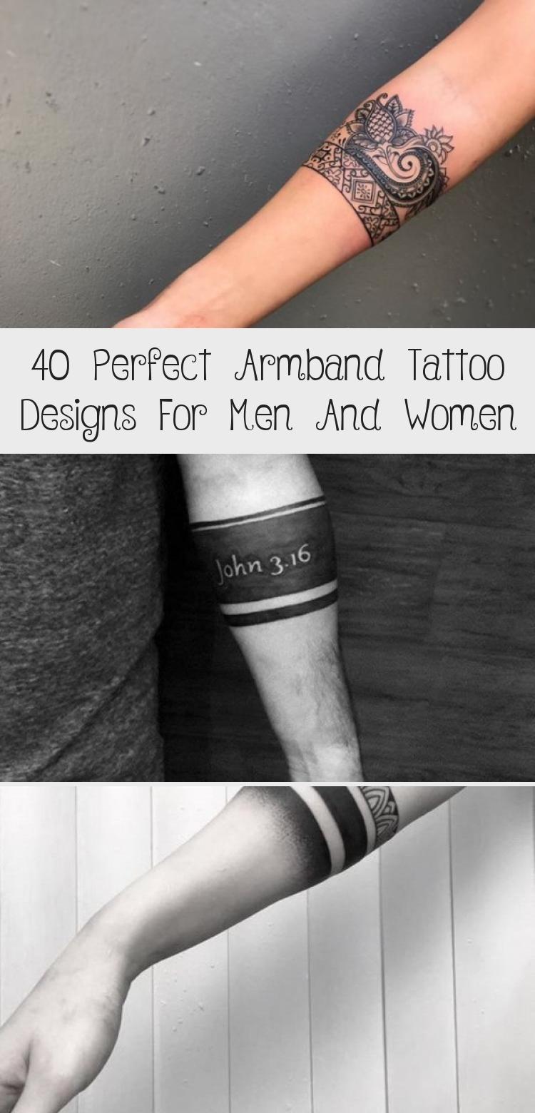 Perfect Armband Tattoo Designs For Men And Women Tattoodesignssketches Newschooltattoodesigns Tatto In 2020 Armband Tattoo Design Arm Band Tattoo Tattoo Designs Men