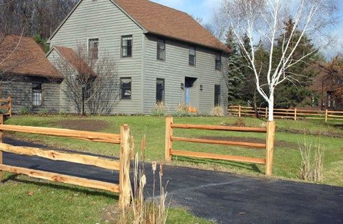 end+of+driveway+fence+ideas | Hoover Fence Co.PatioHoover ...