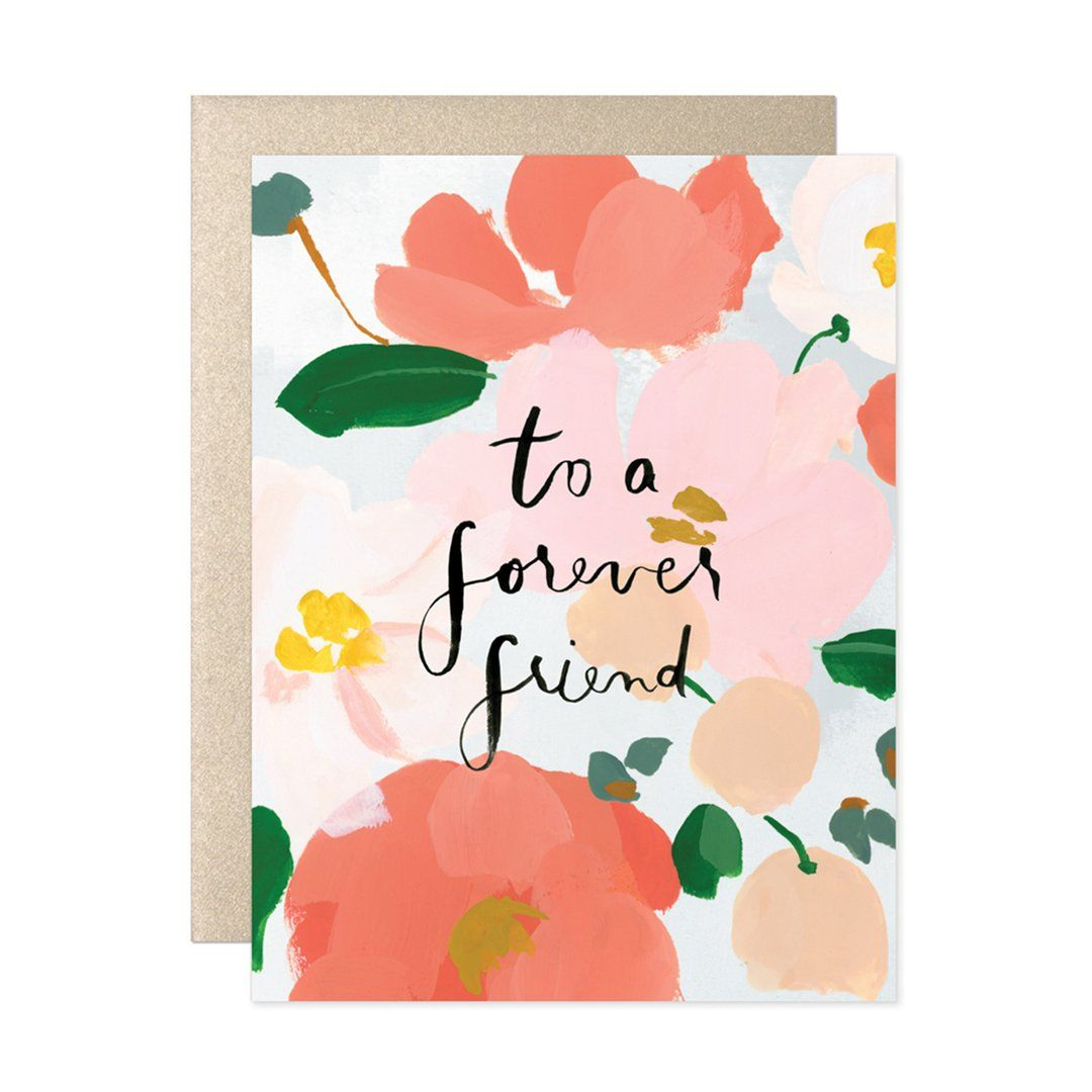 To a forever friend card greetings pinterest forever