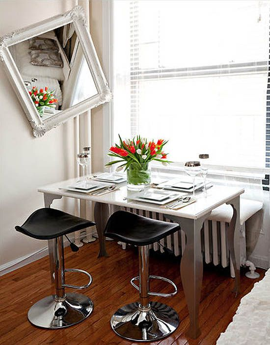 Small Apartment Design Idea By Malena Georgieva Small Dining Table ...