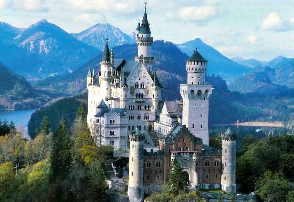Neuschwanstein Castle Germany Inspired Cinderella S Castle