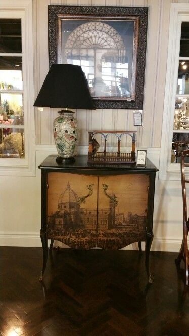 $4995 Florence Cabinet, $495 artwork and frame. Parati and ...