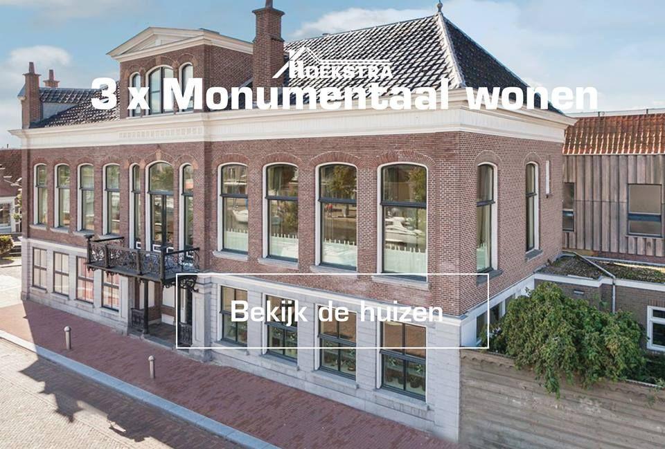 Prachtige stadsvilla gelegen in het centrum van Sneek met 453m2 woon- werk- of hobbyruimte, monumentale details en beschutte stadstuin. De comfortabele villa heeft een monumentale bescherming en is in 1864 gebouwd.