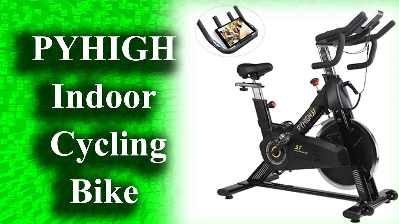 Best Pyhigh Indoor Cycling Bike 2019 Stationary Bicycle Exercise
