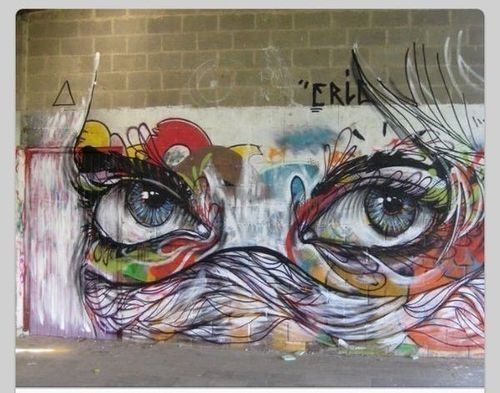 Eye Graffiti Art Cool Abstract Graffiti Street Art Street