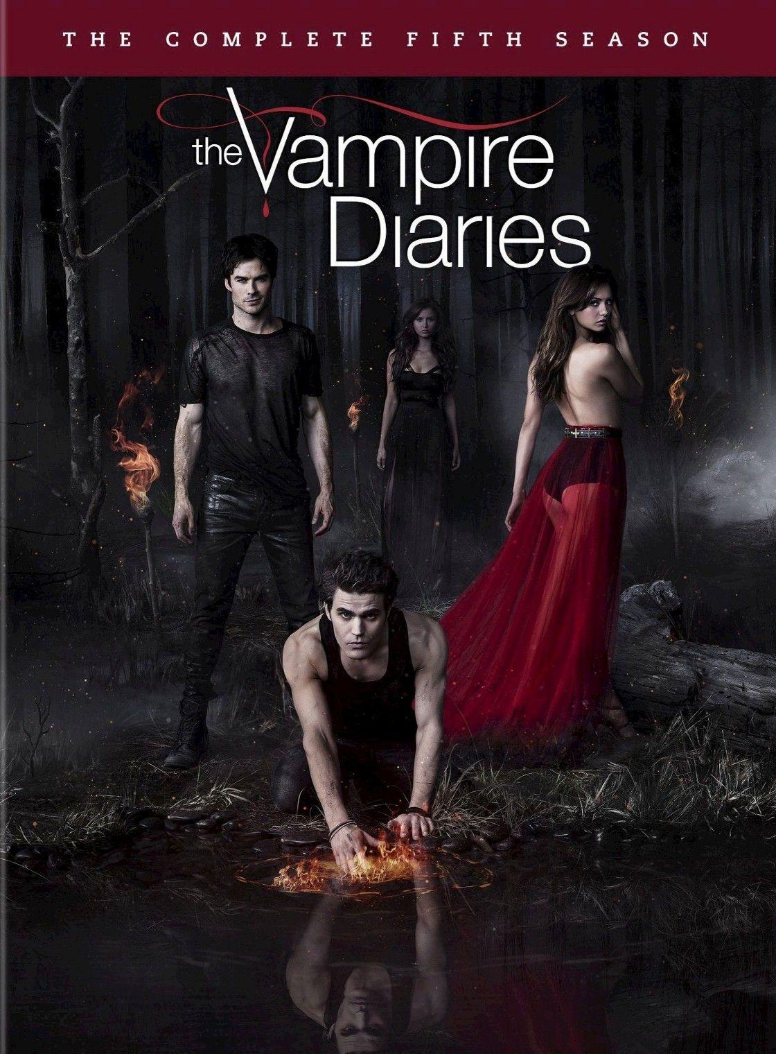 The Vampire Diaries The Complete Fifth Season 5 Discs Vampire