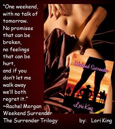 Weekend Surrender By Lori King Fate Can Place Them All In The Right
