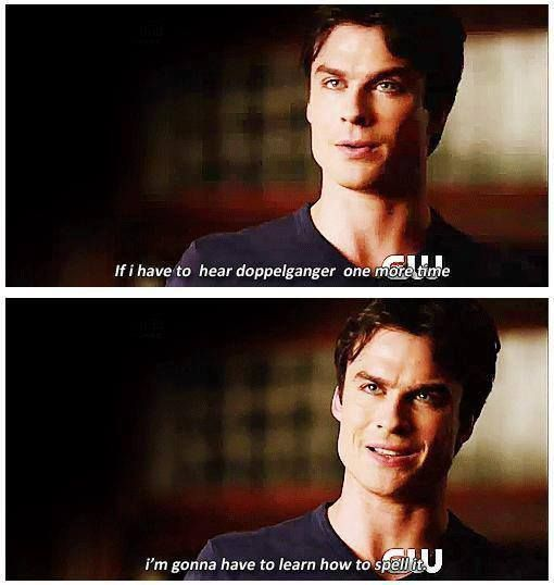 3 Most Funny Quotes Of Damon Salvatore In TVD