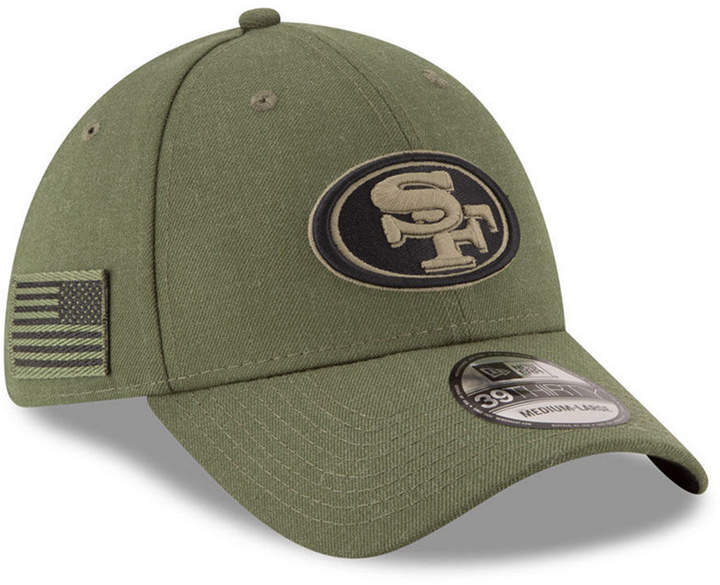 new specials authentic quality lower price with New Era San Francisco 49ers Salute To Service 39THIRTY Cap ...