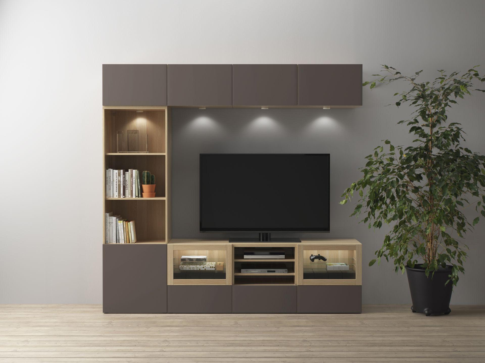 Tv meubel vitrinekast ikea tv meubel trento de statie wonen dichte