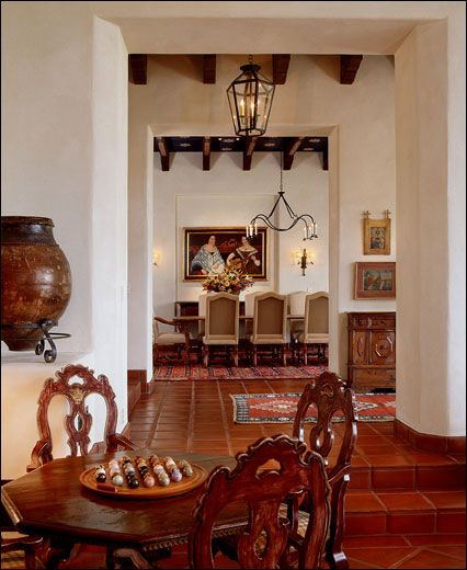 Interior Spanish Style Homes: Spanish Colonial-Style Interiors