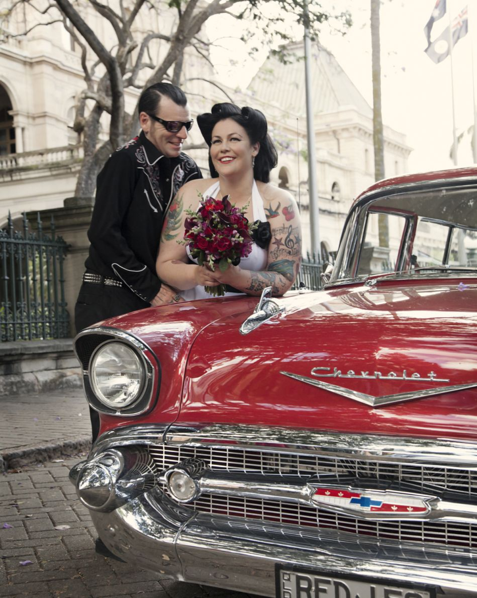 What the Heck is Rockabilly? Gallery: Rockabilly: Carjacker Picture | Break.com