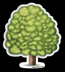 Deciduous Tree Emojistickers Com Tree Emoji Emoji Emoji Stickers
