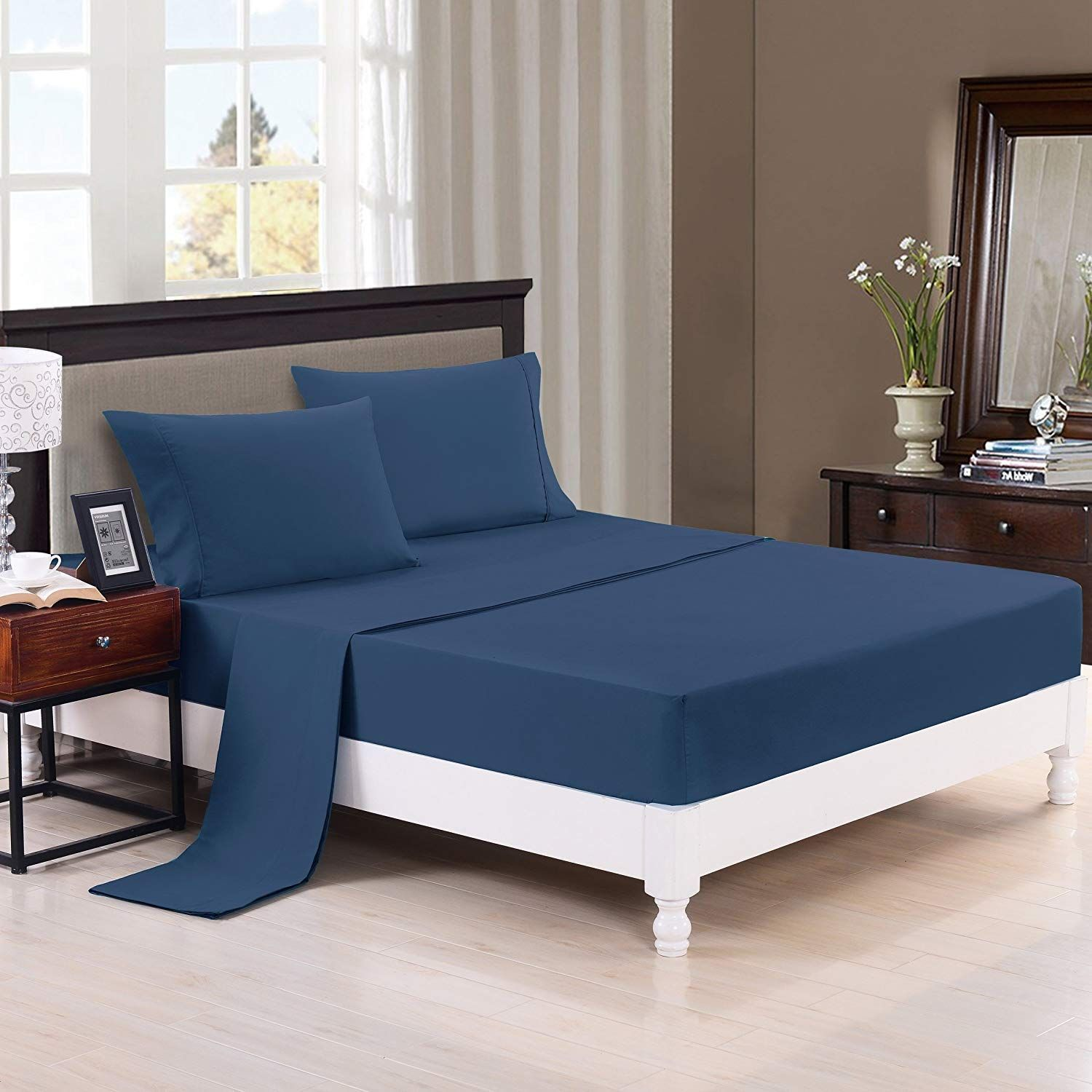 Authentic Heavy Quality Super Soft Bed Sheets 1200Thread
