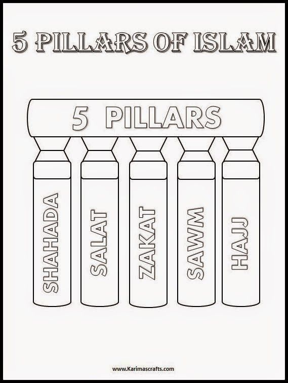 Worksheets Five Pillars Of Islam Worksheet 1000 ideas about pillars of islam on pinterest hadith ahmed deedat and islam