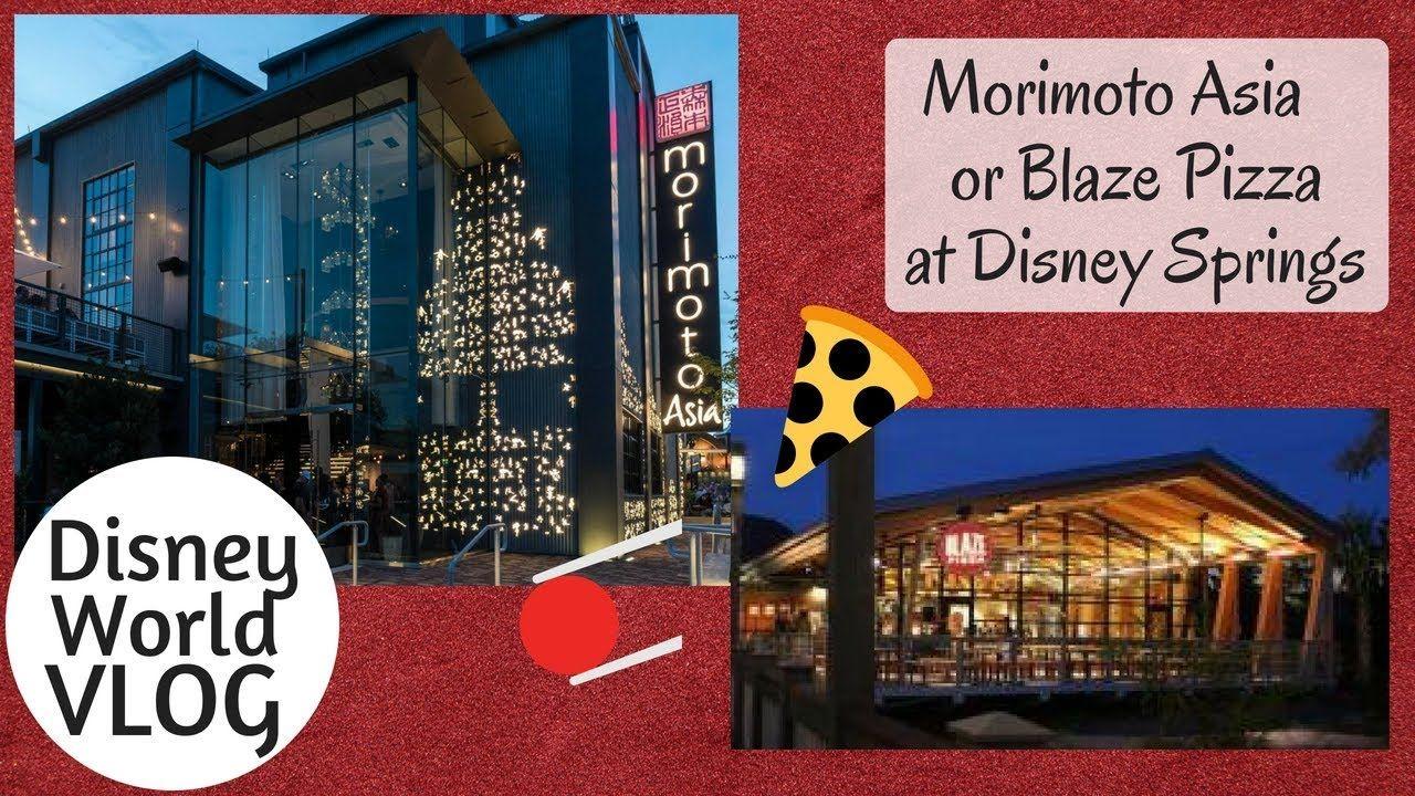 Disney Springs Morimoto Asia Or Blaze Pizza Plus Parodeejay Pops In Disney Springs Disney World Disney