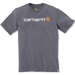 Photo of Carhartt Emea Core Logo Workwear Short Sleeve T-Shirt Grau Xs Carhartt