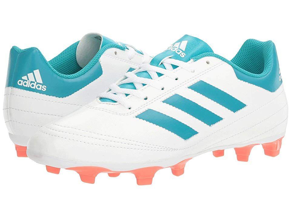 6806ee4c8cab6 adidas Goletto VI FG Women's Soccer Shoes White/Energy Blue/Easy ...