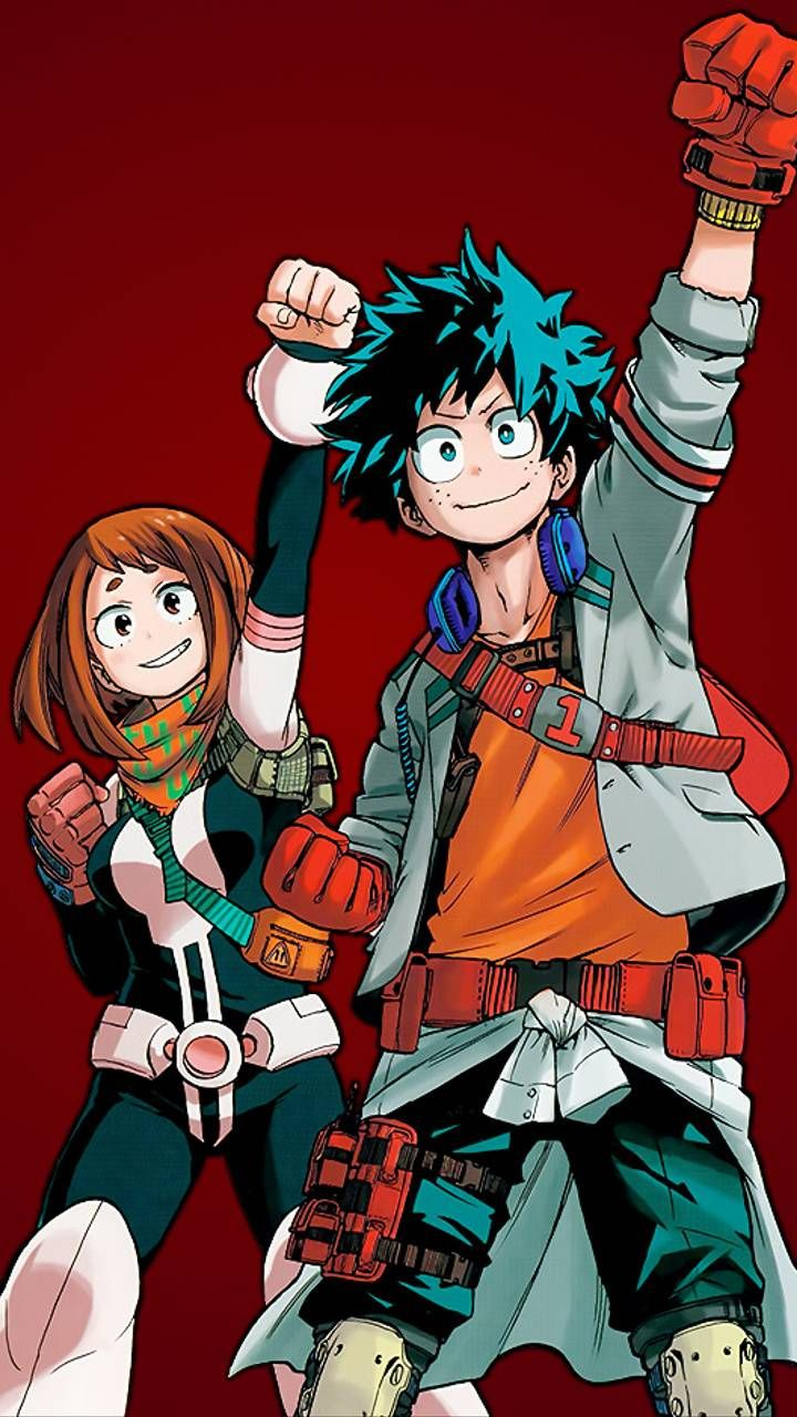 Download Deku and Ururaka Wallpaper by Tyheim123 4b