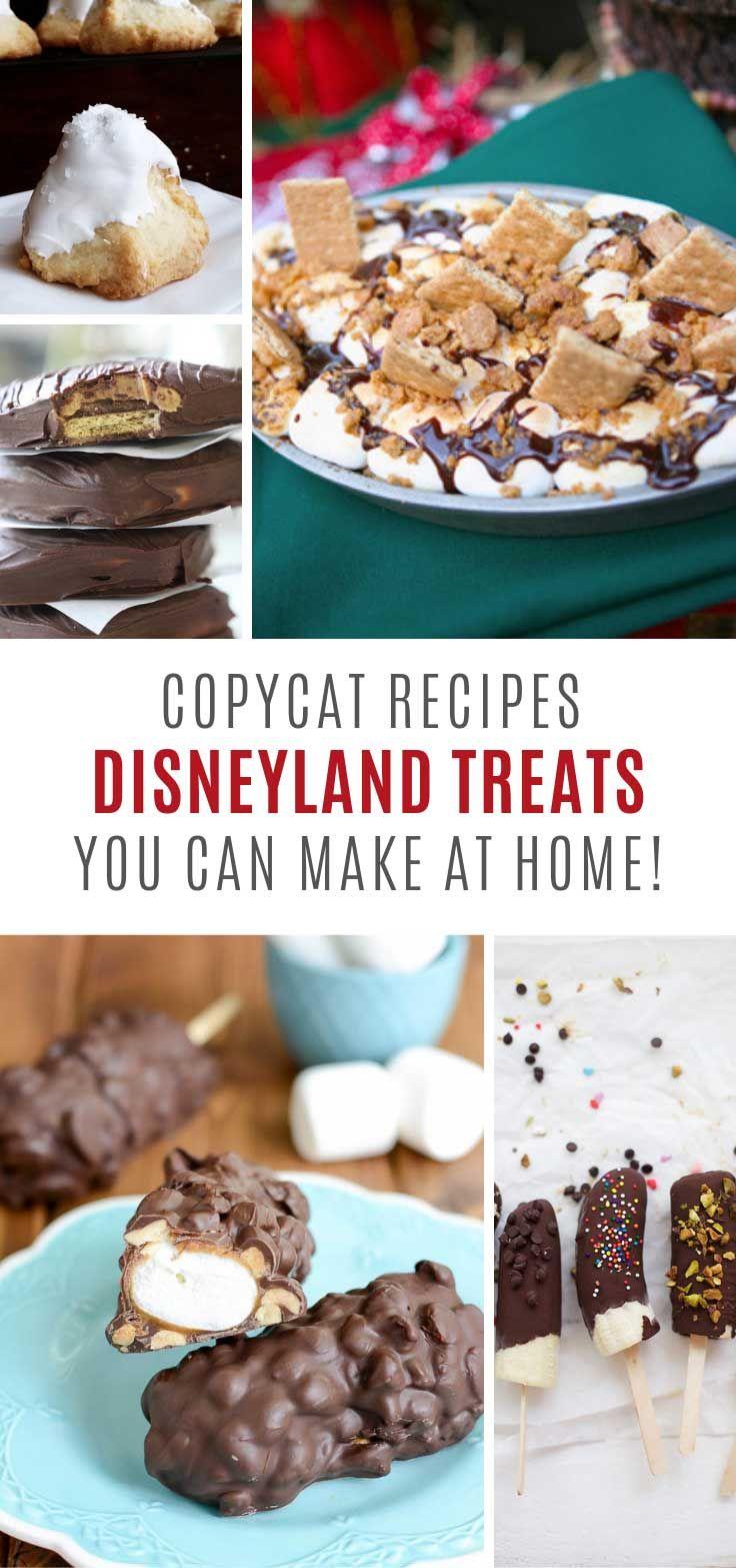 Photo of Nachahmer Disneyland Treats {Sie können zu Hause machen!}