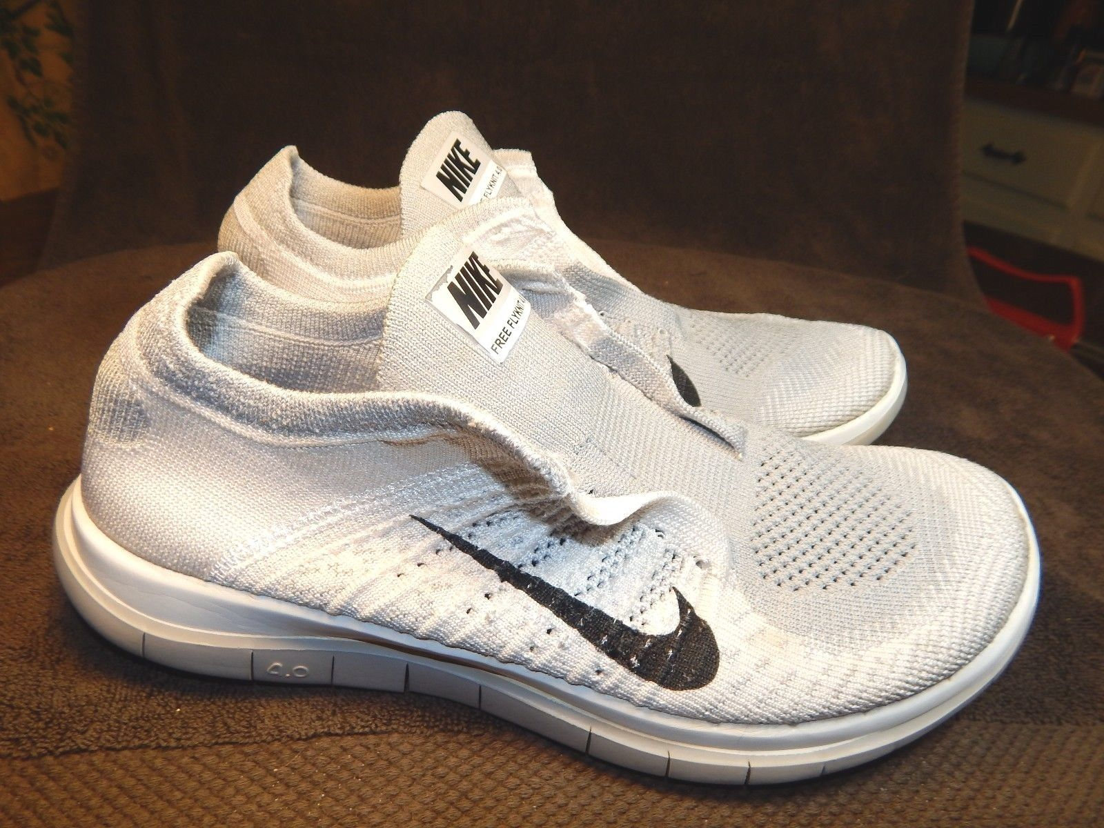 "WOMEN'S NIKE ""FREE FLYKNIT 4.0"" LACE-LESS SLIP-ON ATHLETIC SNEAKERS-SZ 9 M-GRA https://t.co/5qJUPAoFot https://t.co/eGNG5Ow2Cd"