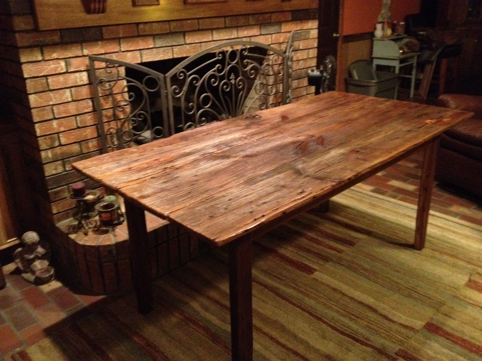 Marvelous I Love That This Looks Super Solid And I Wouldnu0027t Have To Top It · Door  Dining TableDining TablesBarn ...