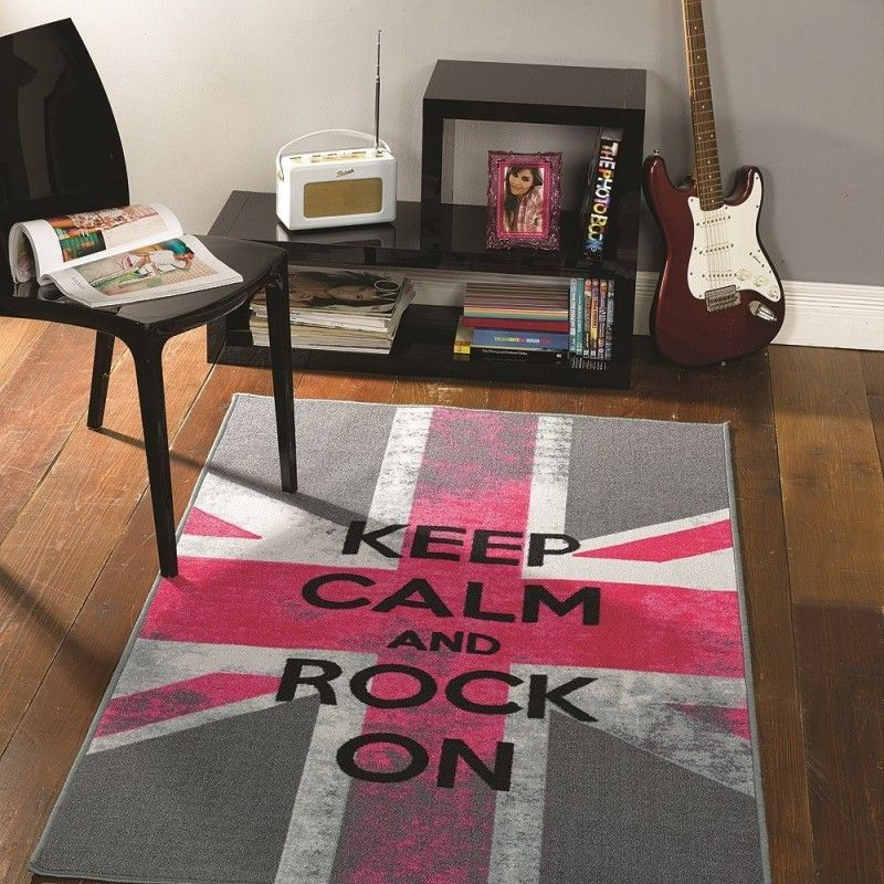 tapis chambre ado rock on flair rugs