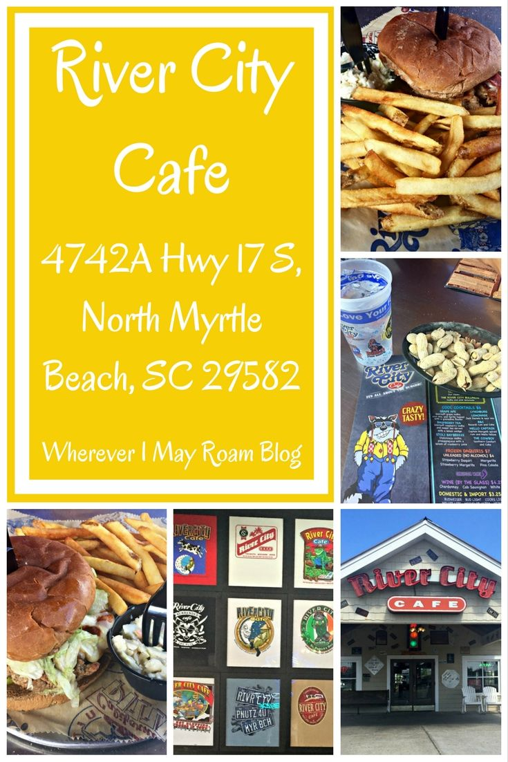 River City Cafe Is A Popular Locally Owned Chain Restaurant In Myrtle Beach And Surrounding Areas My Family Has Dined There For Years W Travel Destinations Foodie Travel United States Travel