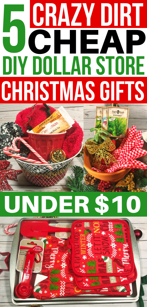 5 Crazy Cheap Christmas Gift Baskets From the Dollar Store Under $10 – Savvy Honey